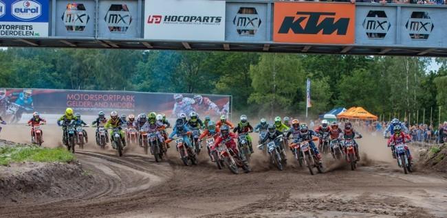 Lukas Bruhn wint de EMX85 North-West in Arnhem