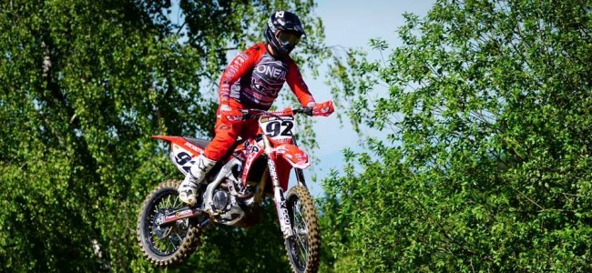 Guillod dit weekend aan de start in MXGP