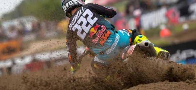 Video: Cairoli crasht hard in tweede reeks MXGP Kegums!