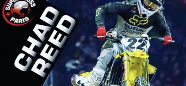 Chad Reed komt naar de Supercross Parijs