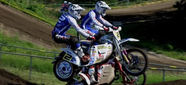 Hermans/Musset winnen in Oss de hete strijd bij de ONK Sidecar Masters!