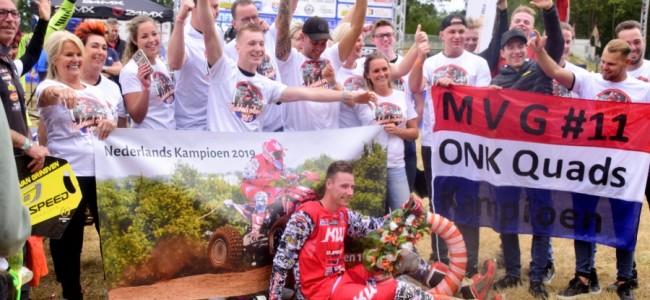 Mike van Grinsven opnieuw Nederlands Kampioen ONK quads