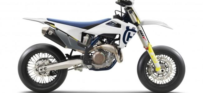 Husqvarna's nieuwe supermoto competitiebeest: FS 450