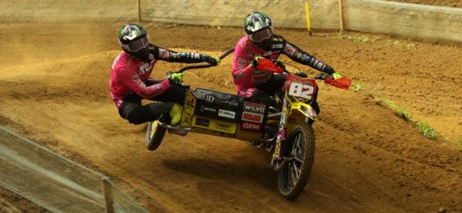 Bax/Stupelis winnen de dramatische GP Sidecars te Markelo!