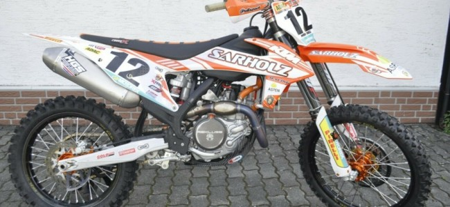 Te koop: Max Nagl's MXGP motor!