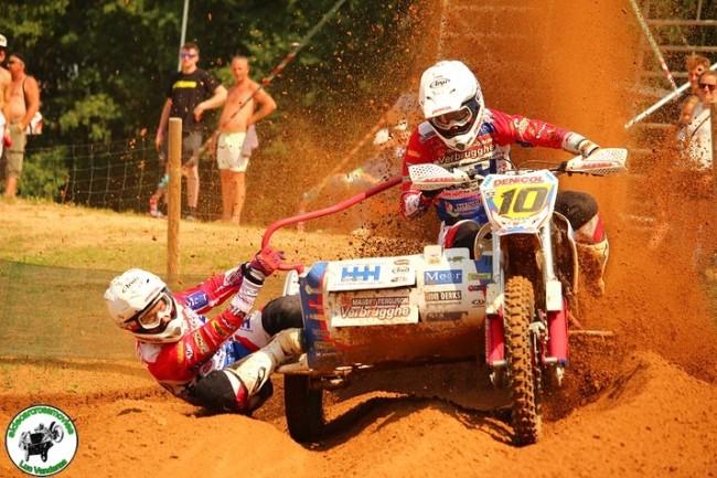 Heroïsche eerste GP winst voor Sidecar-team Dierckens/Bax in Letland!