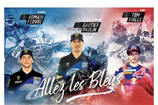 Frans MX of Nations team respecteert de logica