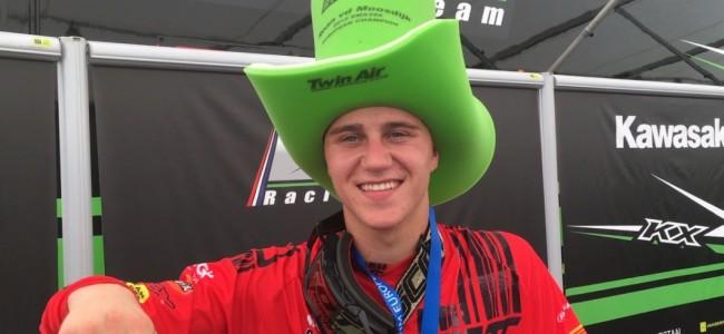 VIDEO: EMX250 kampioen Roan van de Moosdijk