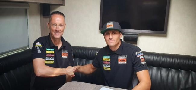 HOT: Ivo Monticelli blijft bij Standing Construct KTM!