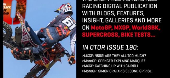 De nieuwe OTOR Magazine is uit!