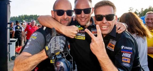 Vijf minuten met Tim Mathys, Standing Construct KTM