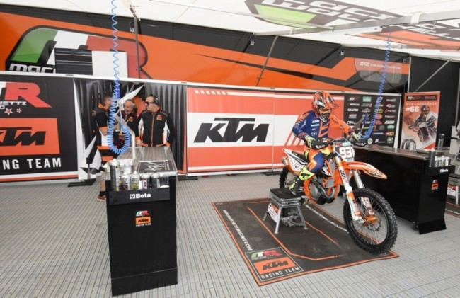 Brian Bogers terug op een KTM!