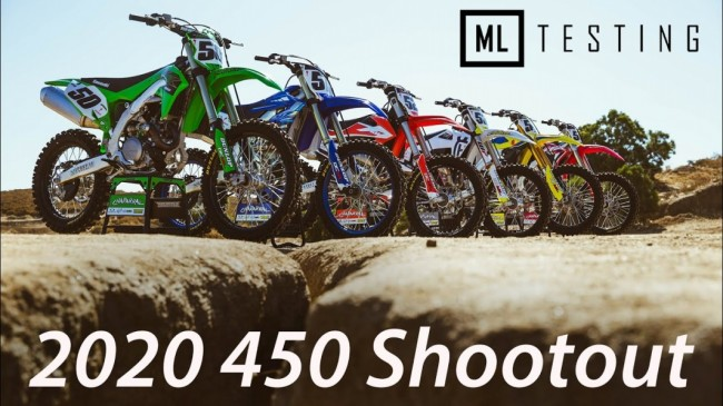 2020 450 Bike Shoot-out!