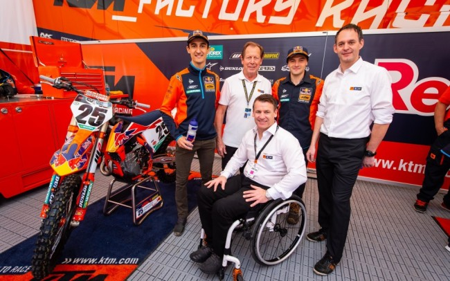 Video: KTM Factory Racing Team Intro