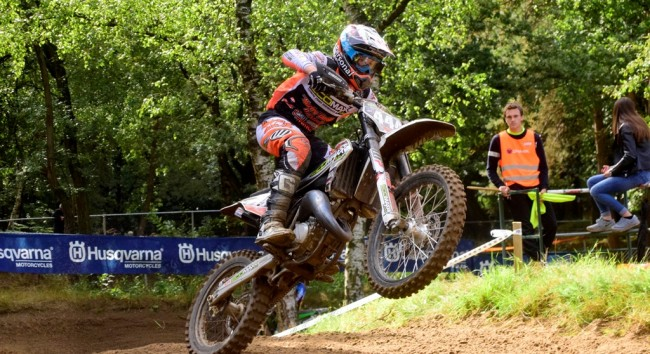 Jeremy Knuiman Nederlands Kampioen MON MX2 jeugd
