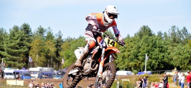 Jacky Tausch Nederlands Kampioen MX open inters