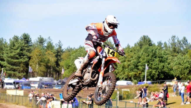 Jacky Tausch Nederlands Kampioen MX open inters