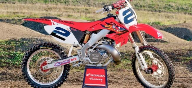 Ken Roczen's retrobike voor de Red Bull Straight Rhythm!