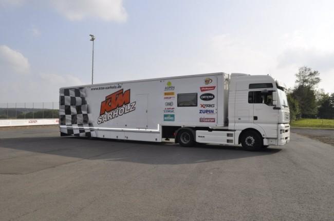 Te koop: KTM Sarholz team truck