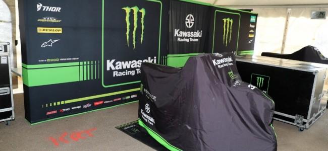 Monster Energy Kawasaki Racing Team mist laatste MXGP!