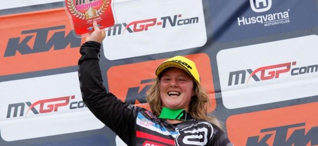 Courtney Duncan met winst naar de wereldtitel