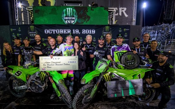 Gallery: Monster Energy Kawasaki Team vanuit Las Vegas