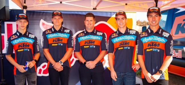 Brian Moreau bevestigd door Team TLD-Red Bull-KTM