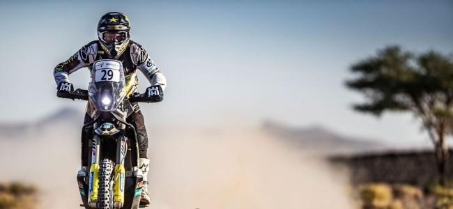 Andrew Short de nieuwe leider in Rallye du Maroc