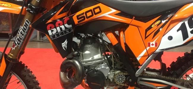 BRC Conversionkit: Maak van uw KTM een vette 500cc tweetakt!