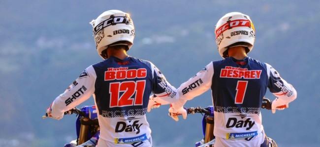 GSM Dafy Michelin Yamaha kondigt Maxime Desprey en Xavier Boog aan