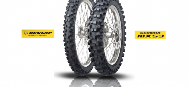 Dunlop lanceert de nieuwe Geomax MX53!