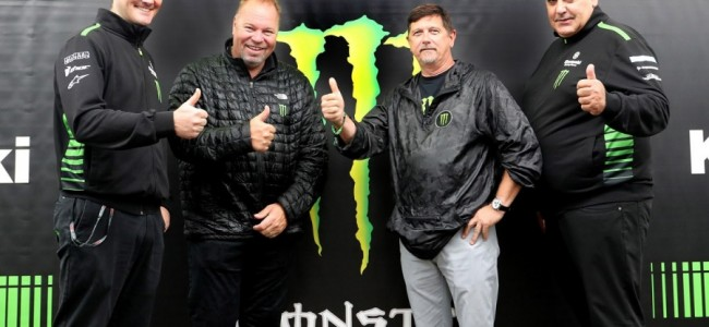 Monster Energy en Kawasaki Racing Team vernieuwen hun partnerschap!