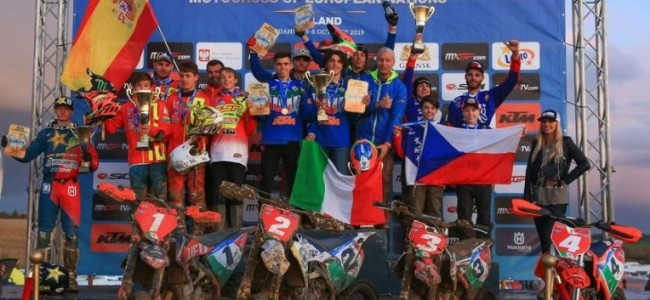 Italie verdedigd de EMXoN-titel met succes