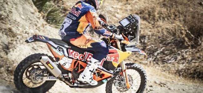 Sam Sunderland wint eerste etappe in Rallye du Maroc