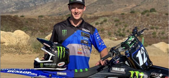 Video: Shane McElrath voor het eerst op Yamaha