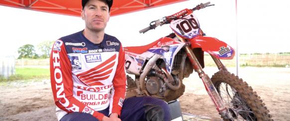 Video: Tommy Searle voor het eerst op de Buildbase Honda!
