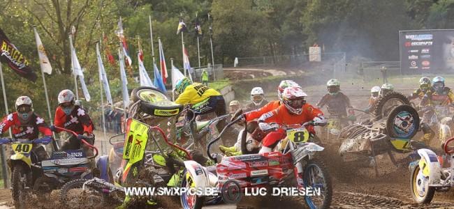 Keuben/Snell pakken Europese titel zijspancross tijdens de finale in Oss!