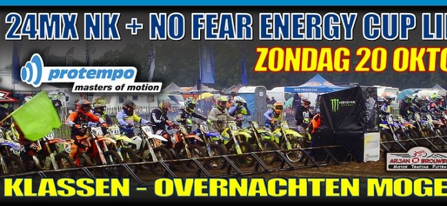 No Fear Energy Cup in Lierop is afgelast!!