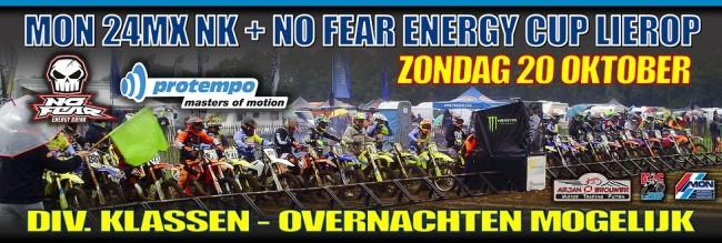No Fear Energy Cup in Lierop is afgelast!!