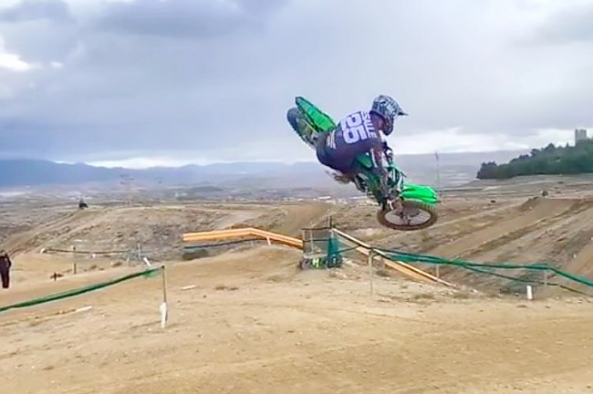 VIDEO: Clement Desalle test in Spanje