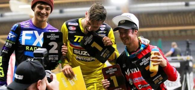 Alex Ray wint de eerste avond in Tampere