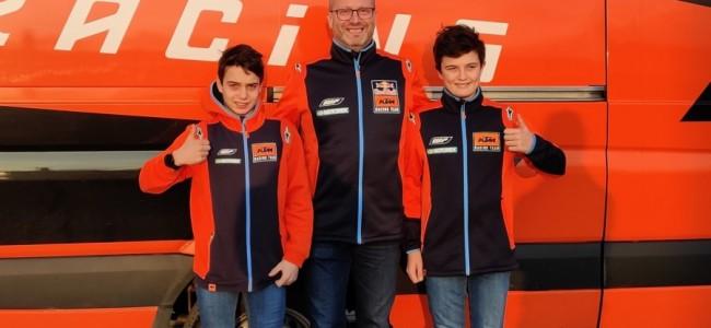 Broers Coenen terug op KTM
