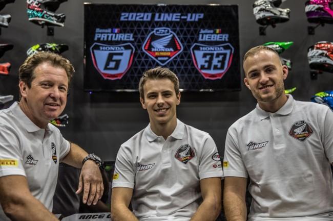 Jacky Martens met Honda, Lieber en Paturel naar de MXGP!