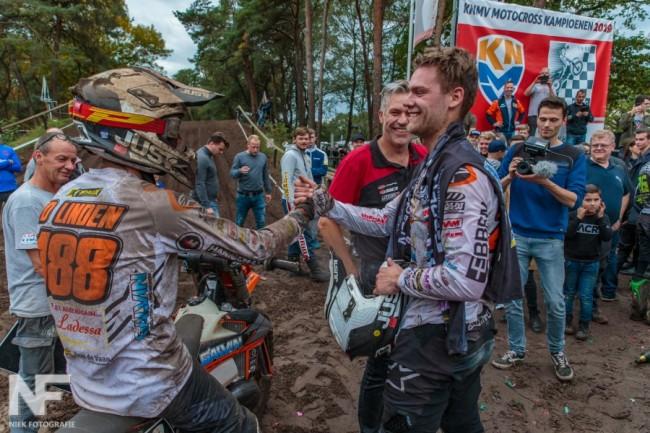 Ook Joshua van der Linden blijft bij Galvin MX Team