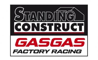 Standing Construct wordt officieel GasGas fabrieksteam