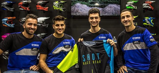 Ghidinelli Racing en Shot slaan handen in elkaar