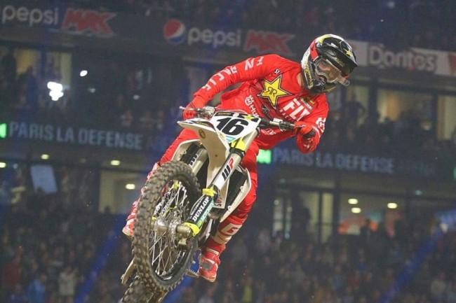 Zach Osborne niet naar Supercross Parijs!