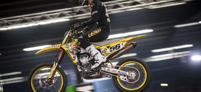 Charles Lefrancios wint de eerste avond in Stuttgart.