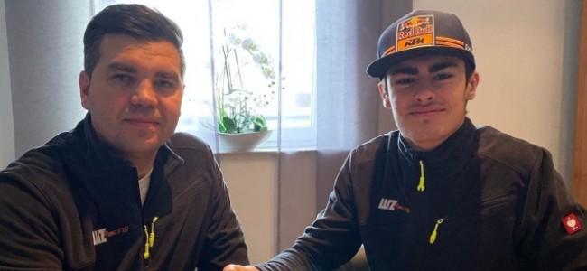 Lion Florian tekent bij WZ Racing!