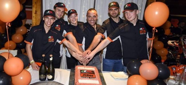 Het kwartet van Marchetti Racing-KTM